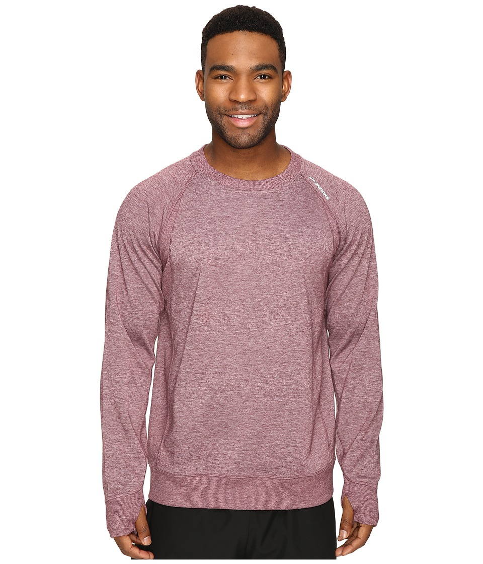 Brooks - Joyride Sweatshirt (Heather Root) Men's Sweatshirt