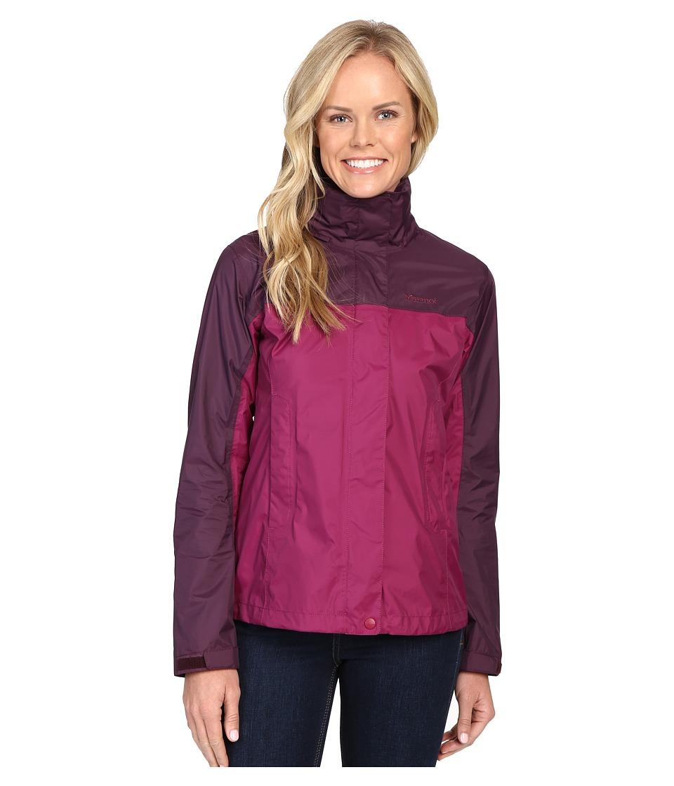 Marmot - PreCip Jacket (Magenta/Dark Purple) Women's Jacket
