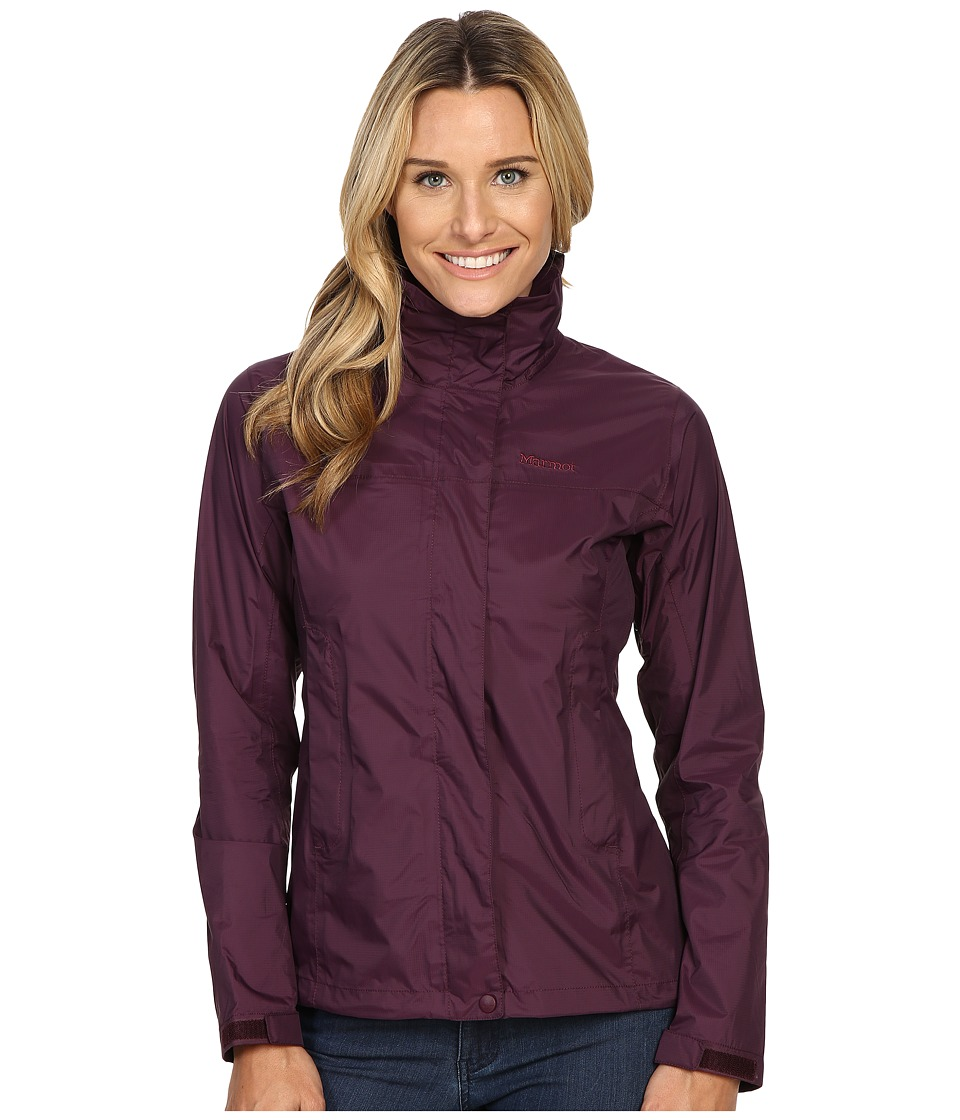 Marmot - PreCip Jacket (Dark Purple) Women's Jacket