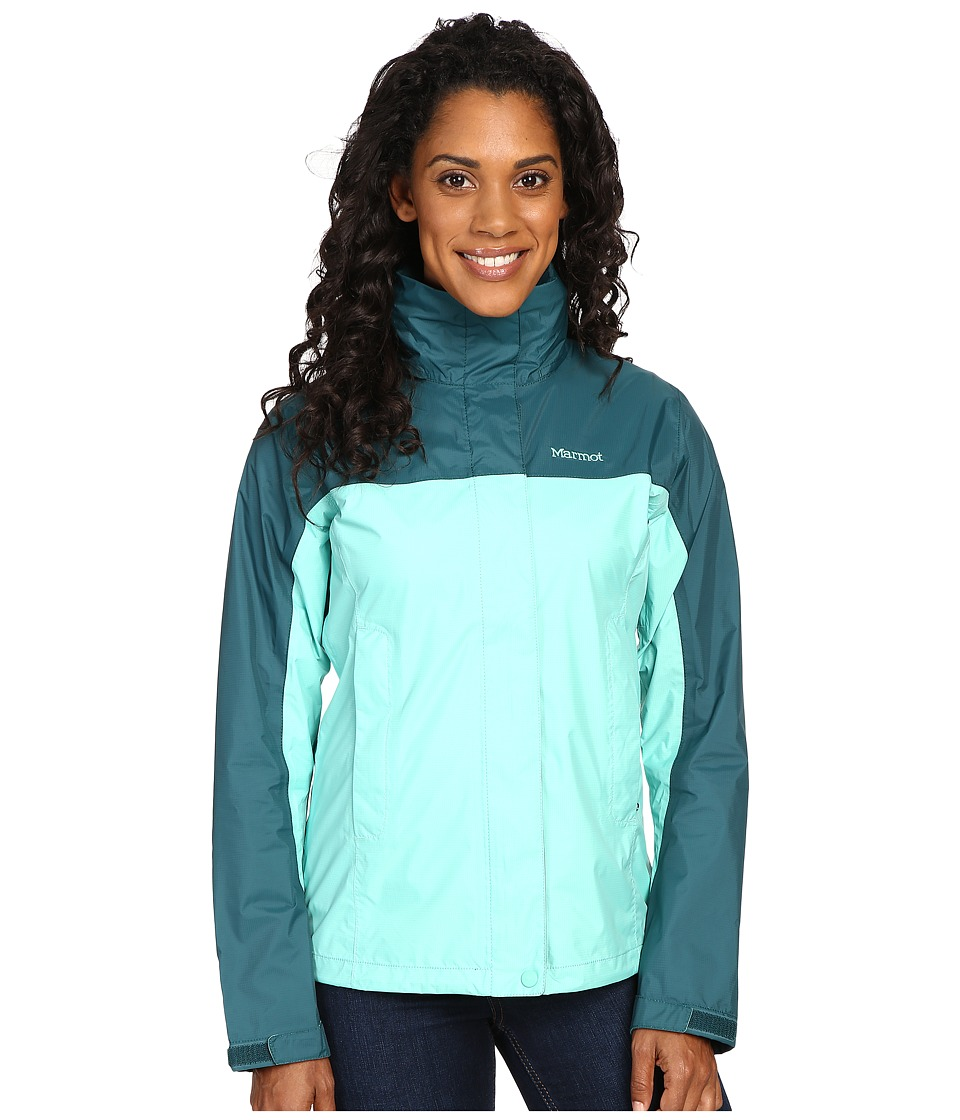 Marmot - PreCip Jacket (Celtic/Deep Teal) Women's Jacket