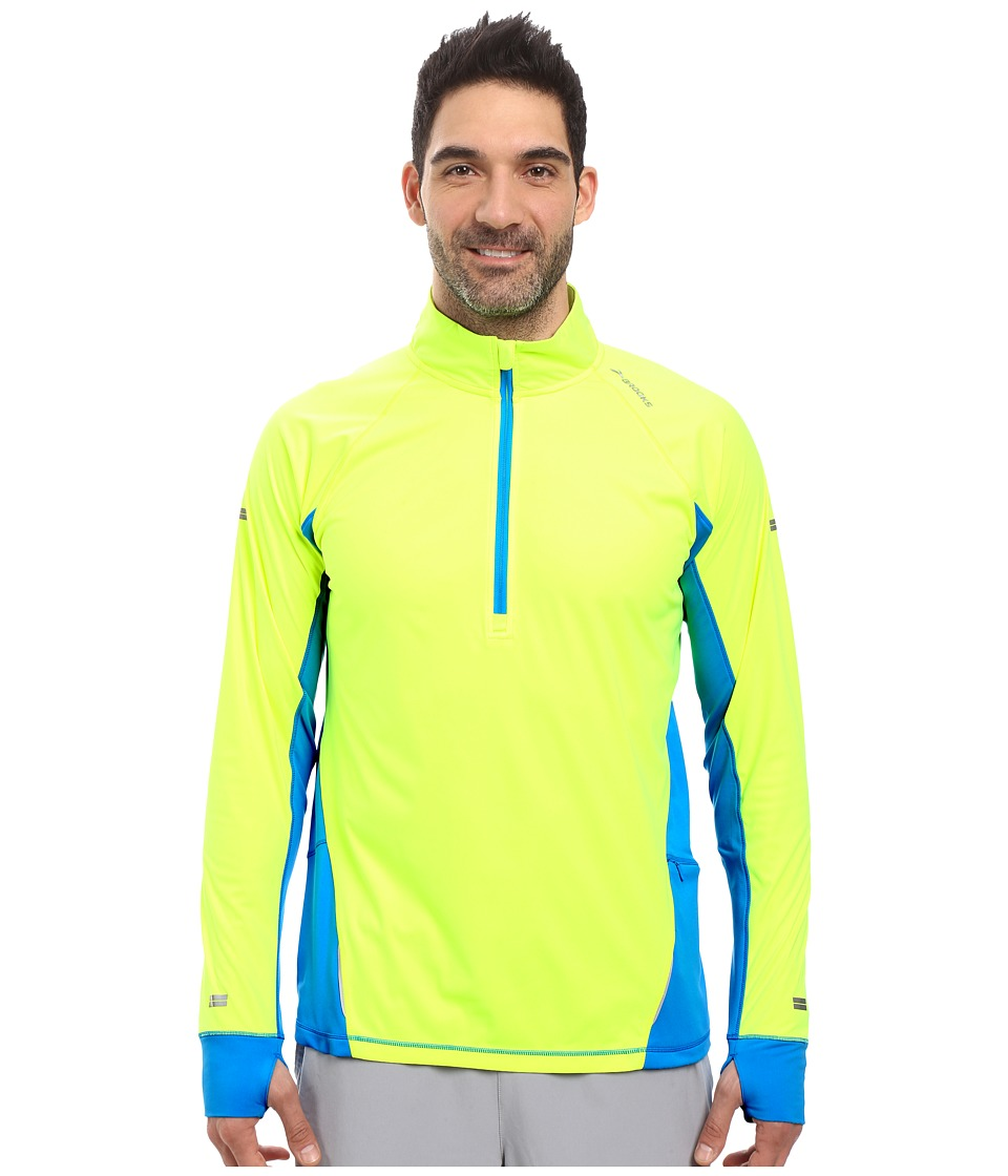 Brooks - Drift 1/2 Zip (Nightlife/Ultra Blue) Men's Long Sleeve Pullover