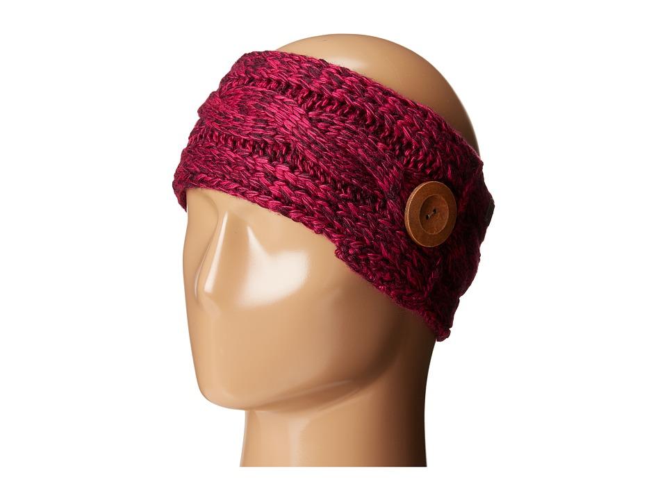 Smartwool - Ski Town Ear Warmer (Berry) Headband