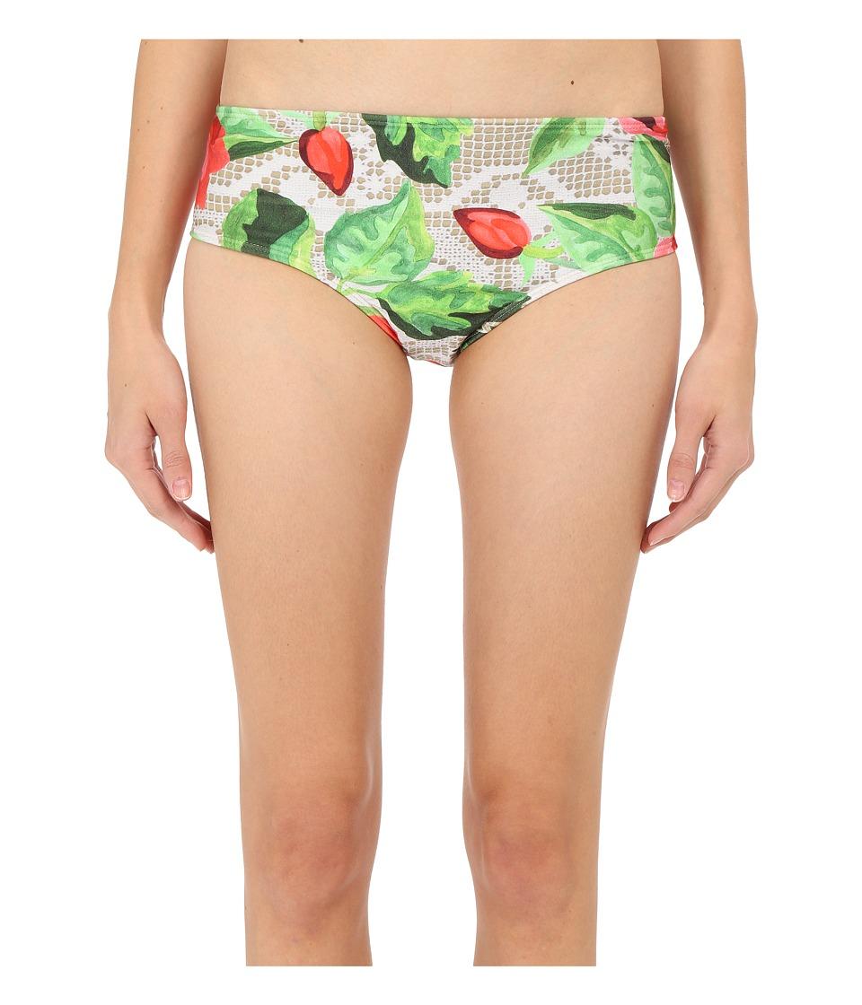 Agua De Coco by Liana Thomaz - Lace Rose Scoop Regular Bottoms (Lace Rose) Women's Swimwear