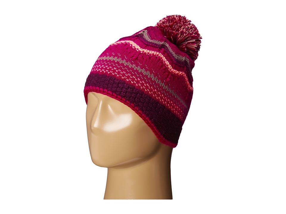 Smartwool - Pine Lake Chevron Hat (Berry) Beanies