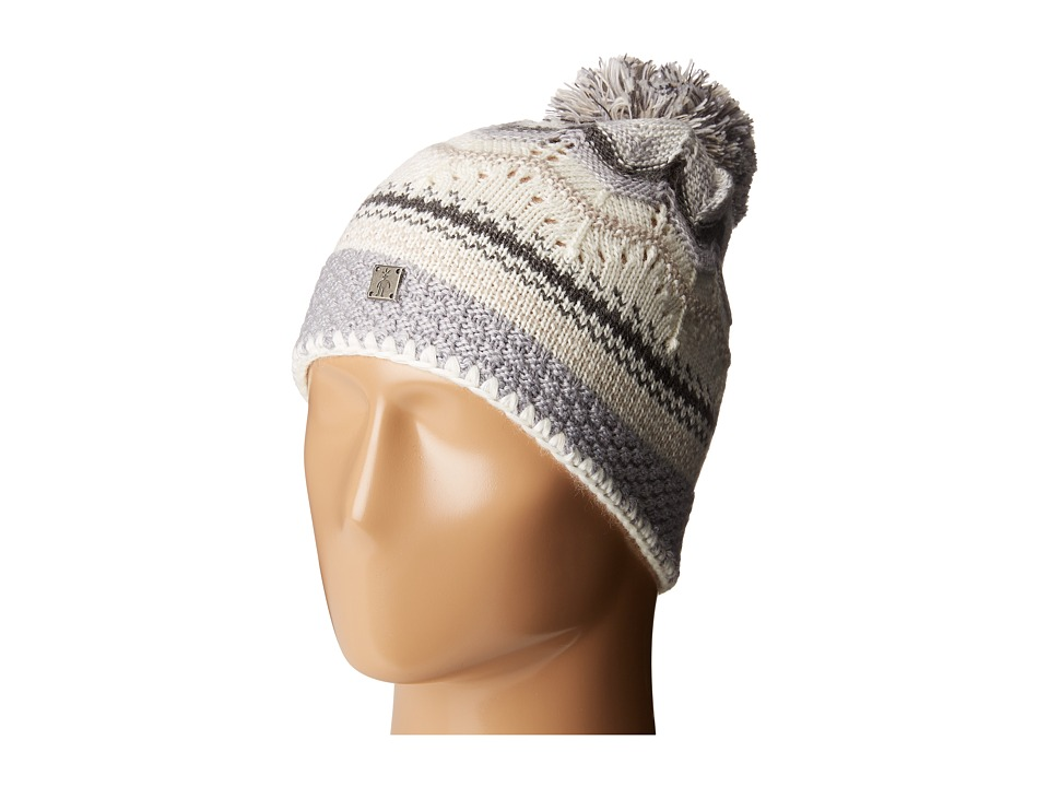 Smartwool - Pine Lake Chevron Hat (Oatmeal Heather) Beanies