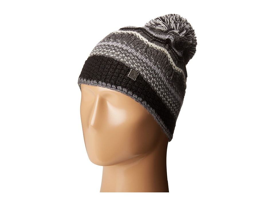 Smartwool - Pine Lake Chevron Hat (Charcoal Heather) Beanies