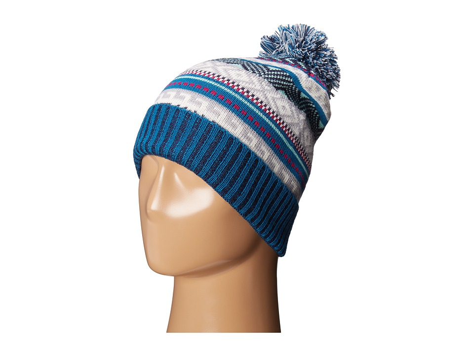 Smartwool - Camp House Beanie (Glacial Blue) Beanies