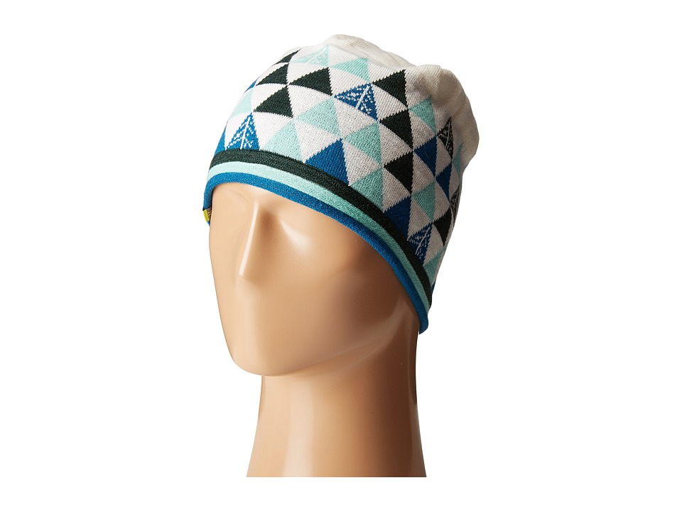 Smartwool - Charley Harper Gay Forest Gift Wrap Hat (Glacial Blue) Beanies