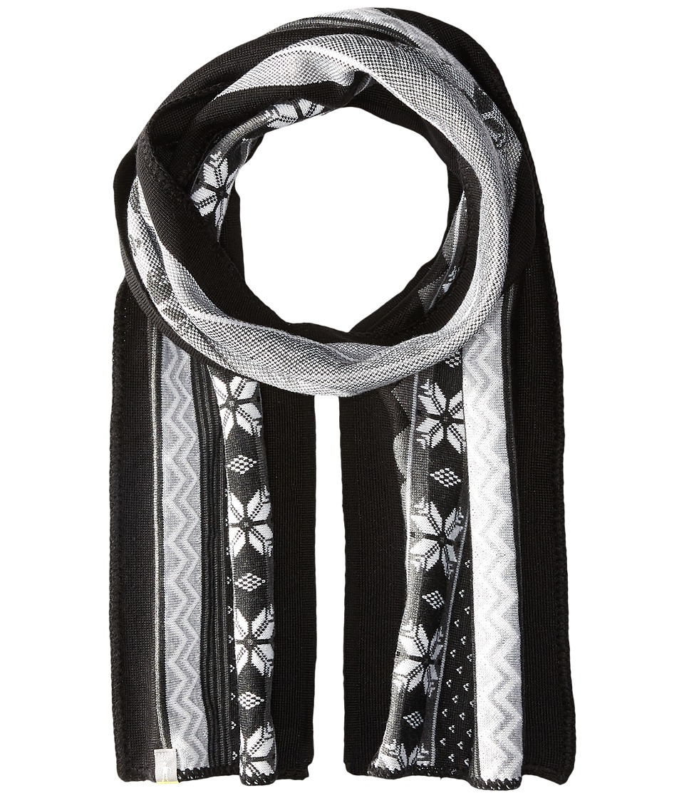Smartwool - Powder Day Scarf (Charcoal Heather) Scarves