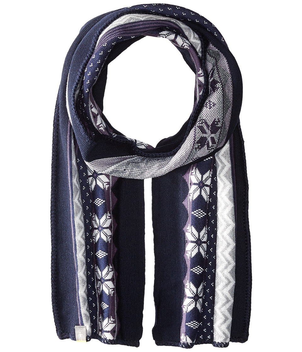 Smartwool - Powder Day Scarf (Ink Heather) Scarves