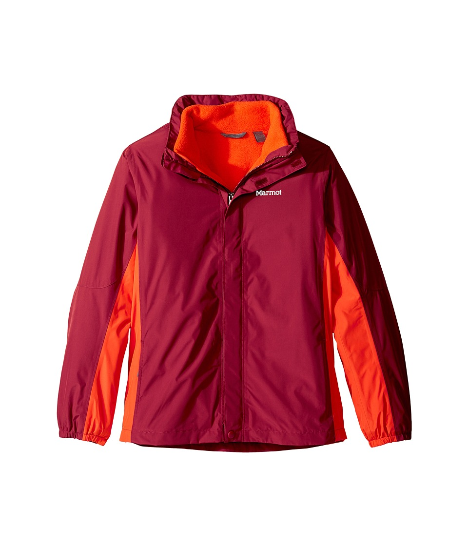 Marmot Kids - Northshore Jacket (Little Kids/Big Kids) (Brick/Mars Orange) Boy's Coat