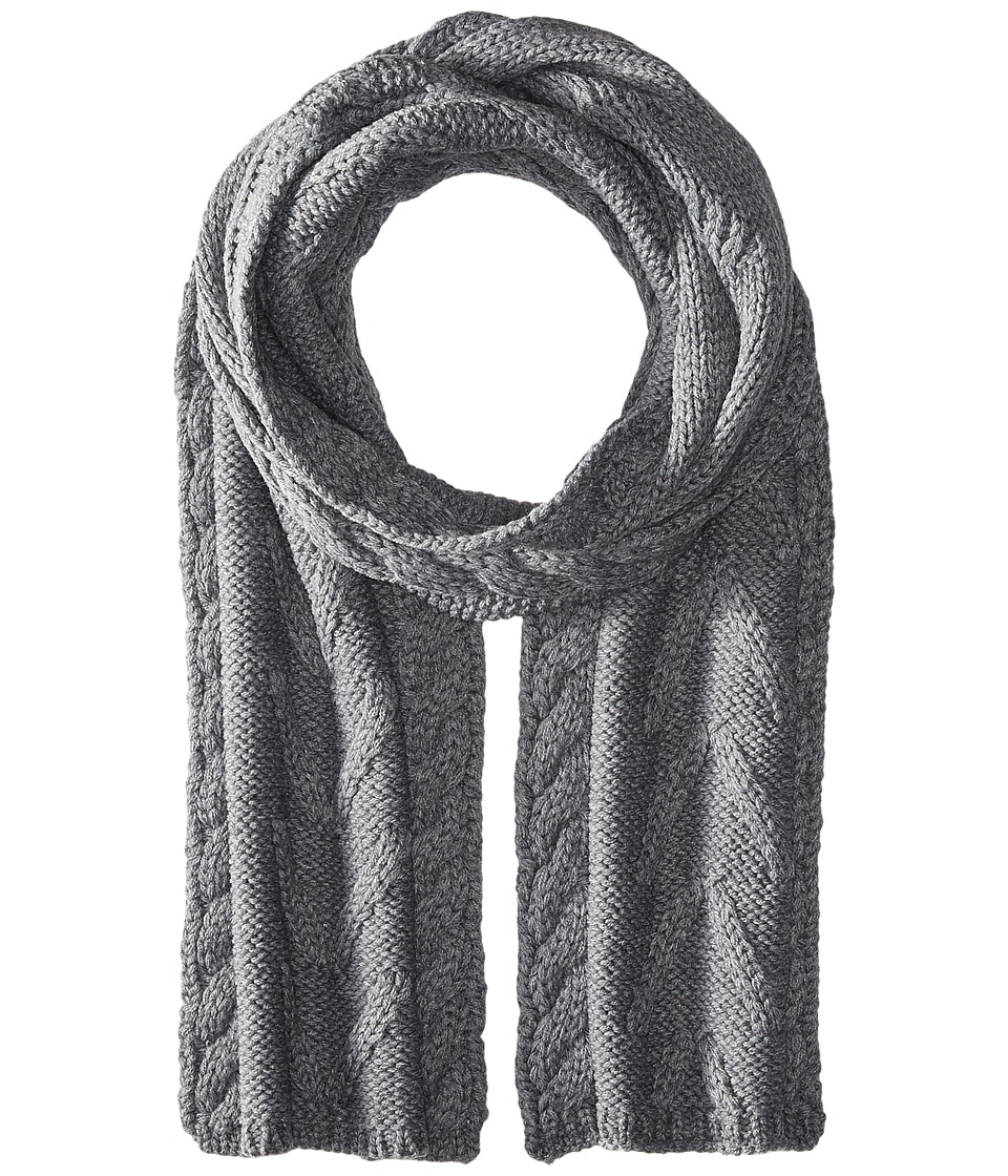 Smartwool - Marquette Scarf (Medium Gray Heather) Scarves