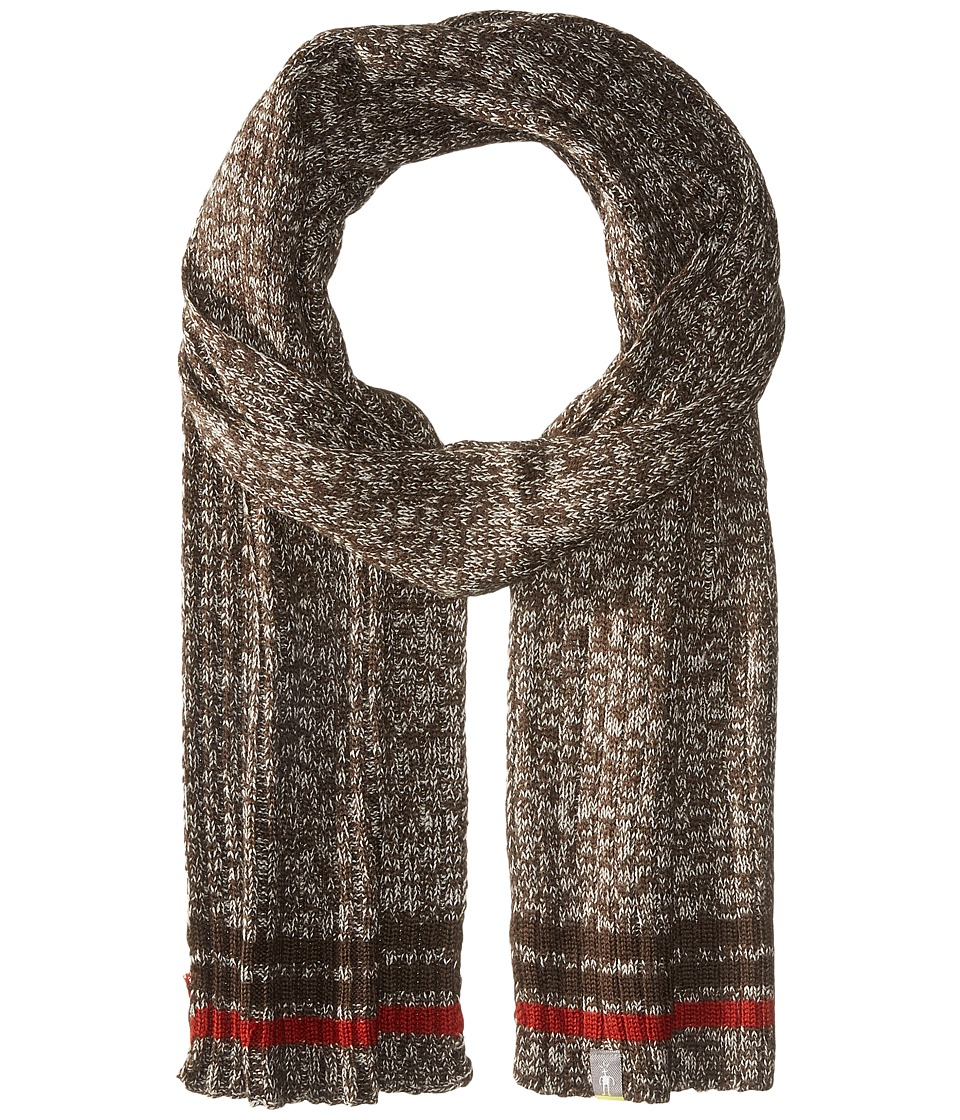 Smartwool - Thunder Creek Scarf (Chocolate Heather) Scarves
