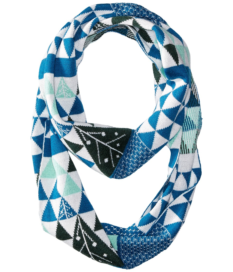 Smartwool - Charley Harper Gay Forest Gift Wrap Scarf (Glacial Blue) Scarves