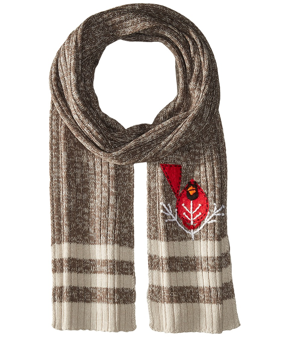 Smartwool - Charley Harper Cardinal Scarf (Taupe) Scarves