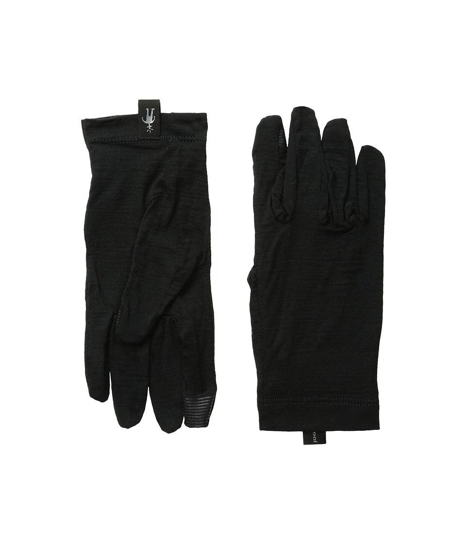 Smartwool NTS Micro 150 Gloves (Black) Wool Gloves