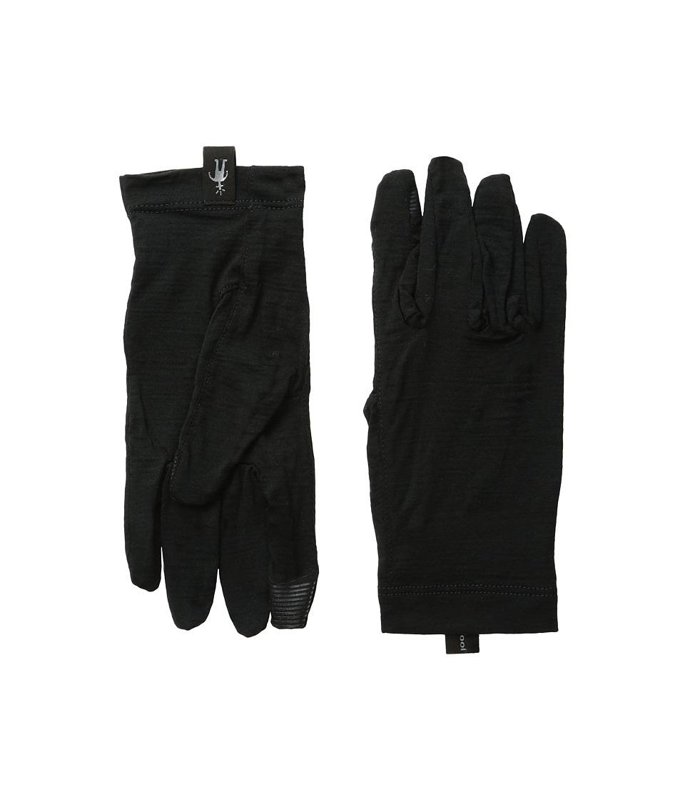 Smartwool - NTS Micro 150 Gloves (Black) Wool Gloves