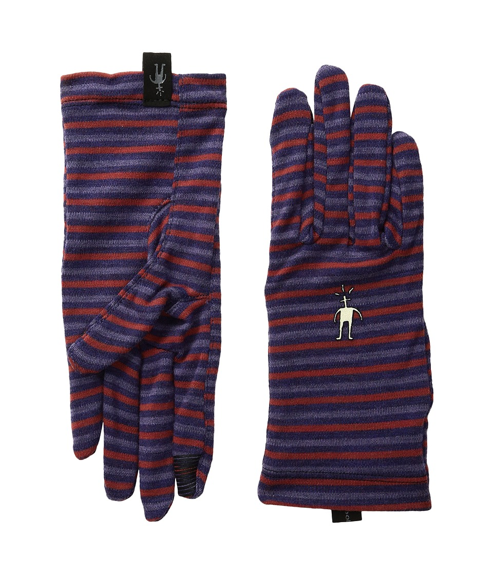 Smartwool - NTS Mid 250 Pattern Gloves (Mountain Purple Heather) Wool Gloves