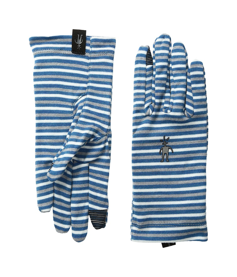 Smartwool - NTS Mid 250 Pattern Gloves (Glacial Blue Heather) Wool Gloves