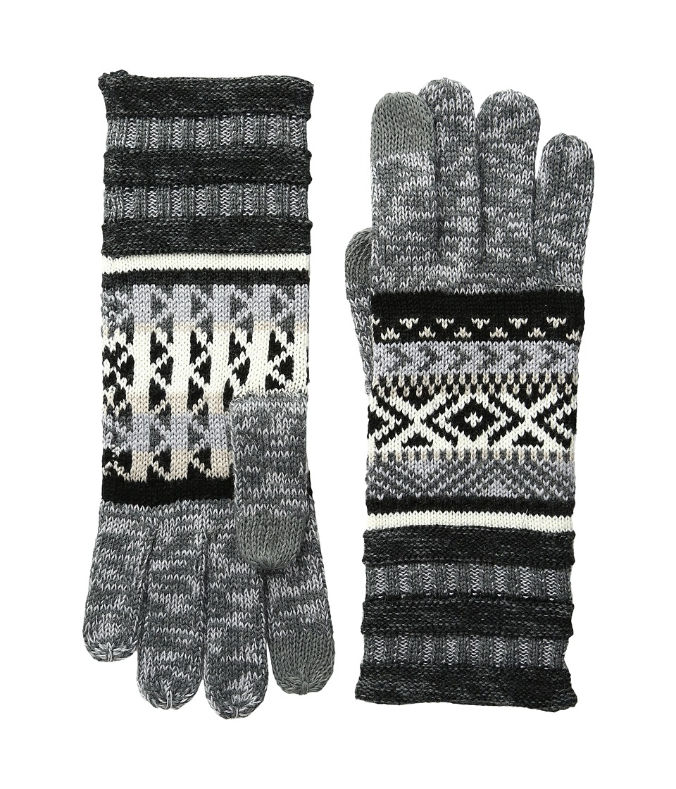 Smartwool Camp House Gloves (Medium Gray Heather) Extreme Cold Weather Gloves