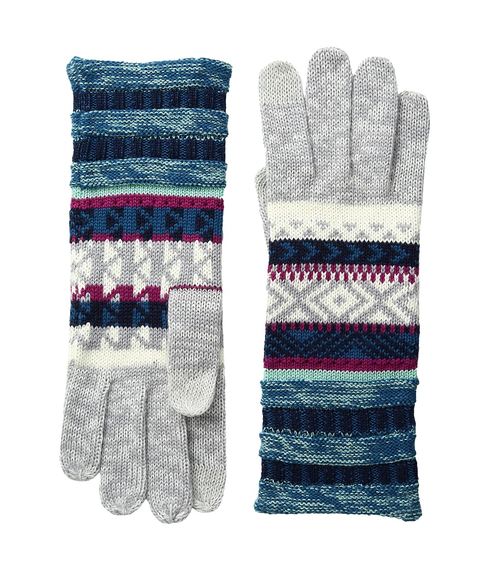 Smartwool Camp House Gloves (Glacial Blue) Extreme Cold Weather Gloves