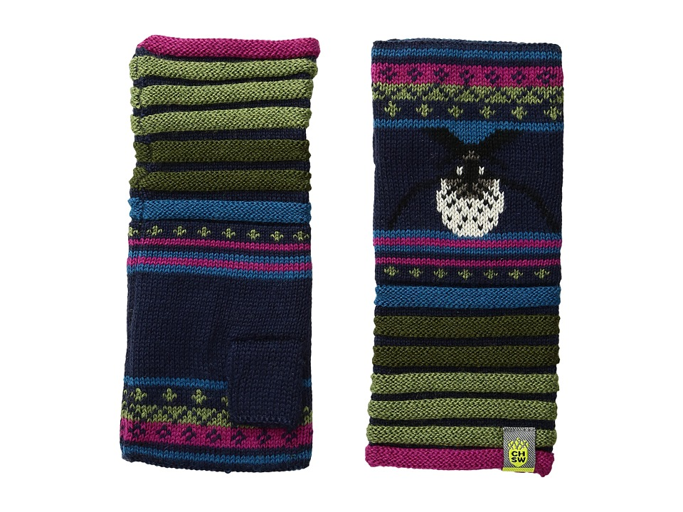 Smartwool - Charley Harper Glacial Bay Seal Hand Warmer (Deep Navy) Extreme Cold Weather Gloves