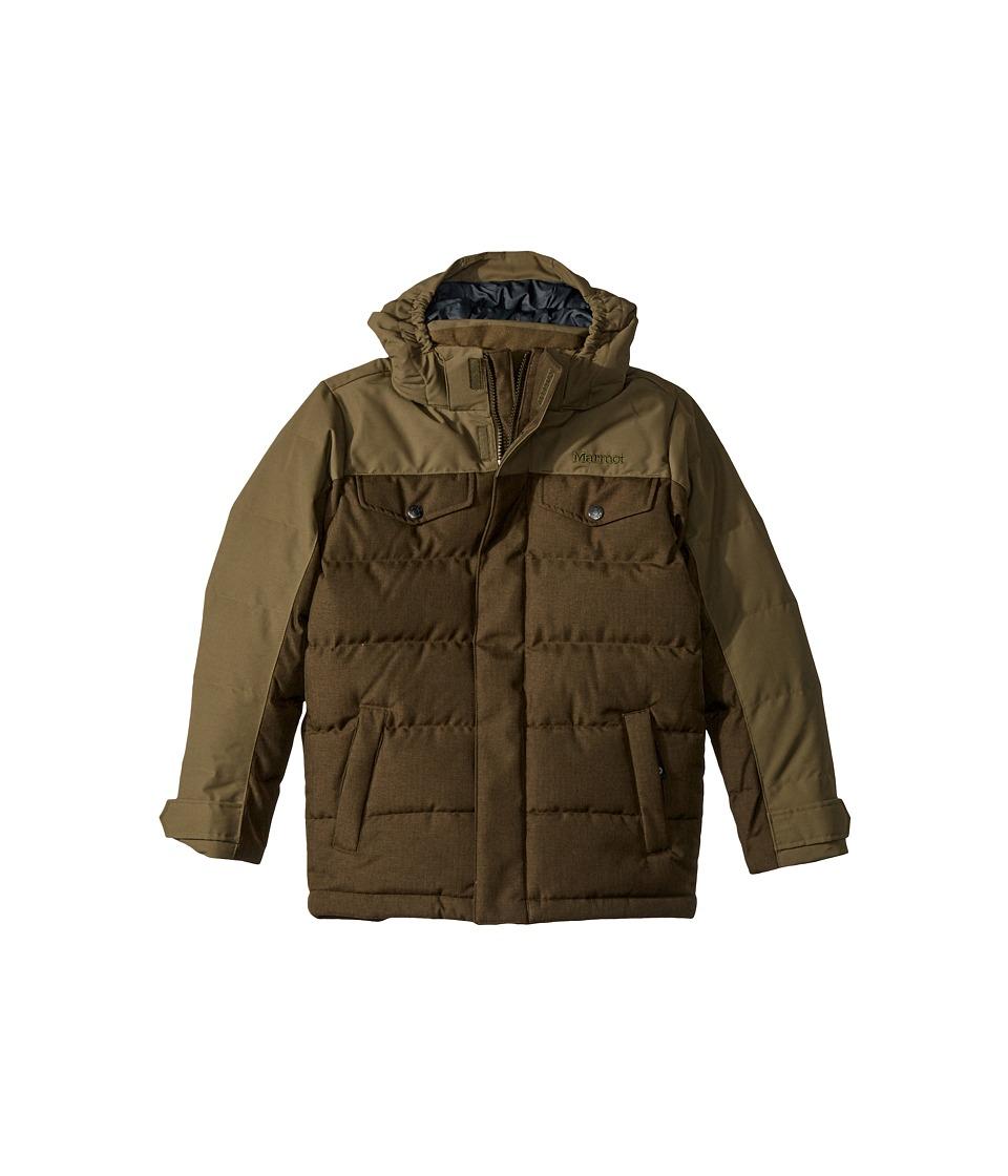 Marmot Kids - Fordham Jacket (Little Kids/Big Kids) (Deep Olive) Boy's Jacket