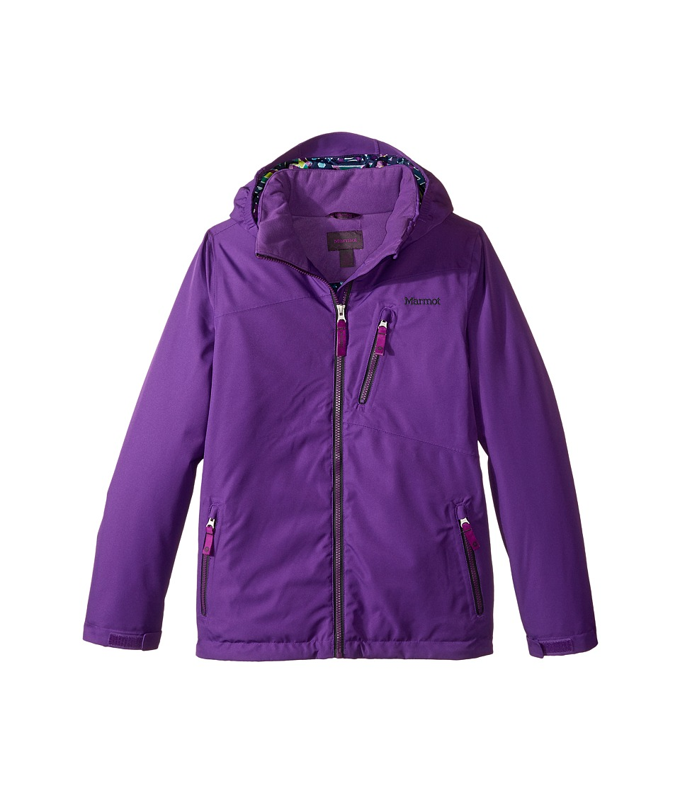 Marmot Kids - Free Skier Jacket (Little Kids/Big Kids) (Mystic Purple) Girl's Coat