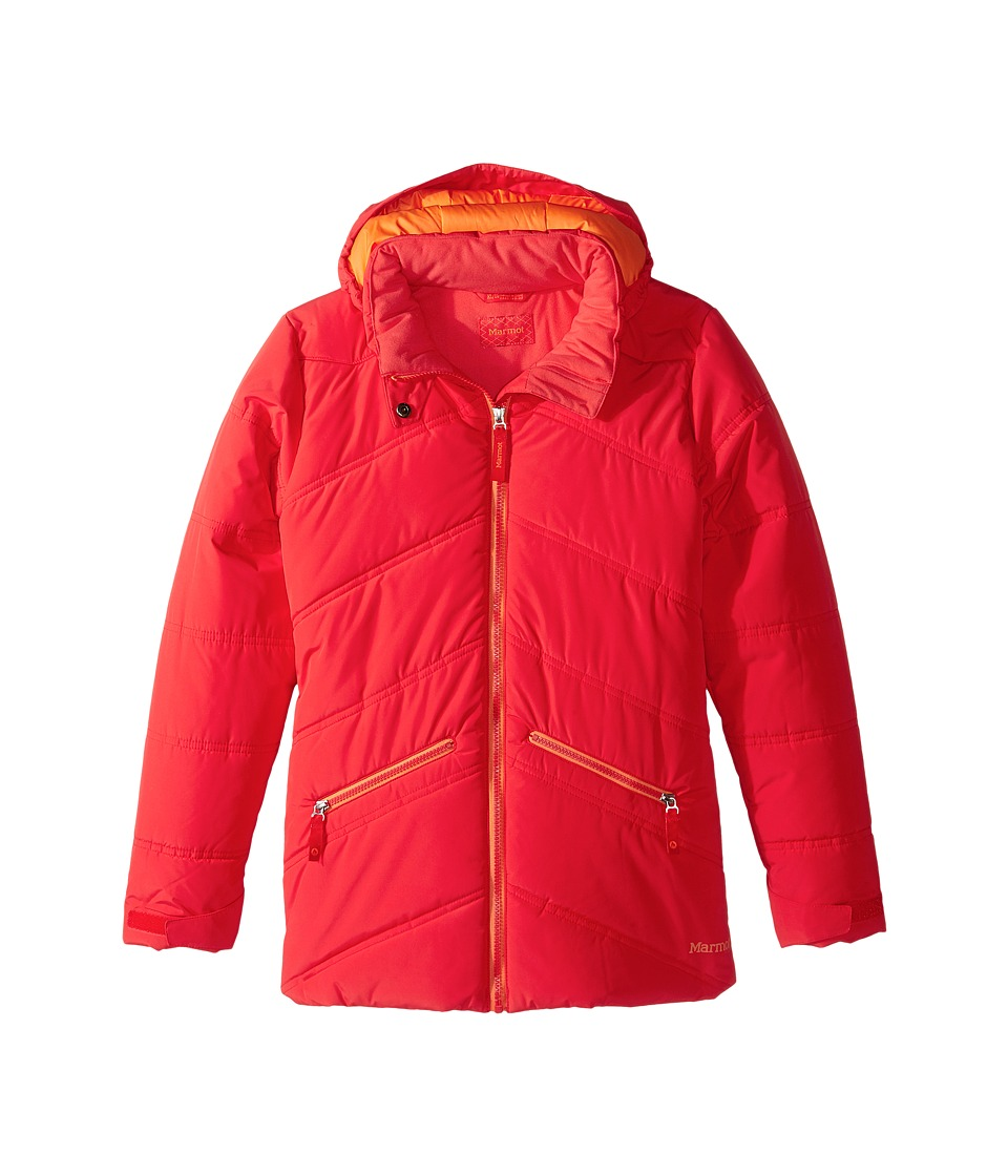 Marmot Kids - Val D'Sere Jacket (Little Kids/Big Kids) (Scarlet Red) Girl's Coat