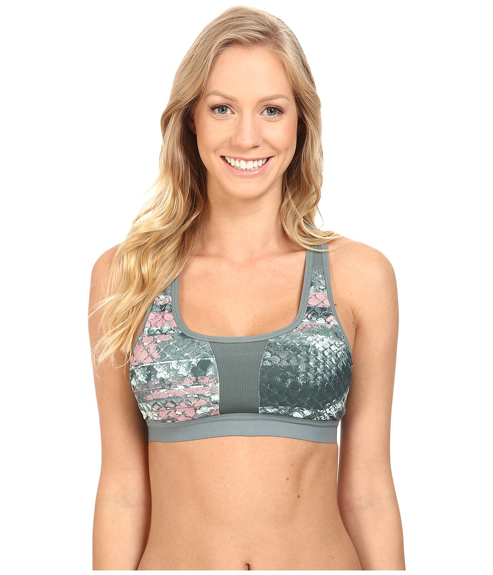 The North Face - Stow-N-Go IV Bra (Balsam Green Reptile Print) Women's Bra