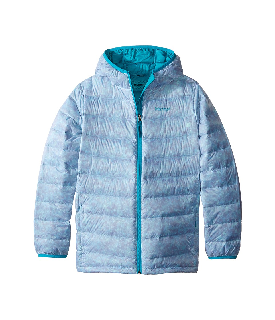 Marmot Kids - Nika Hoodie (Little Kids/Big Kids) (Turquoise) Girl's Sweatshirt