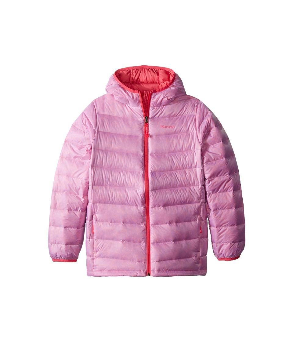 Marmot Kids - Nika Hoodie (Little Kids/Big Kids) (Pink Lotus) Girl's Sweatshirt