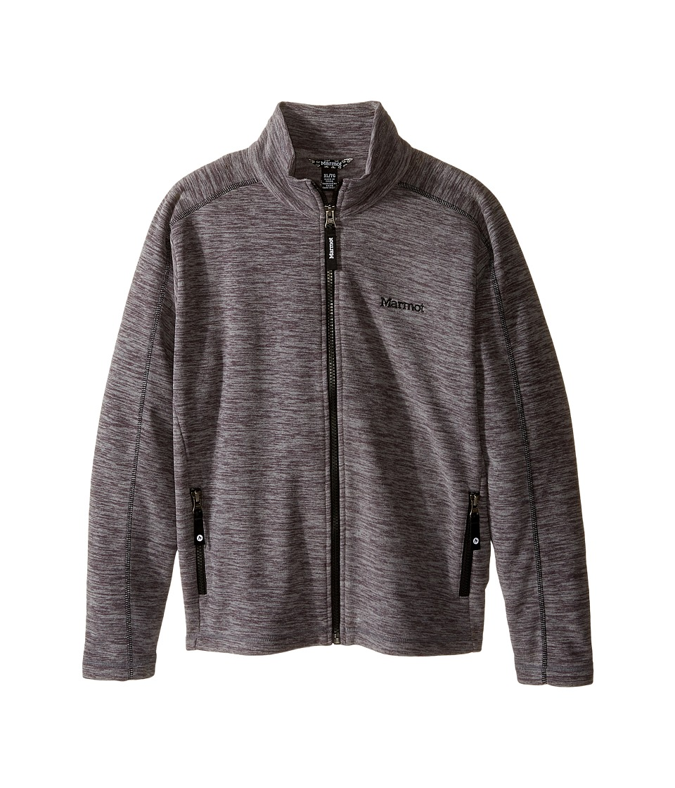 Marmot Kids - Lassen Fleece (Little Kids/Big Kids) (Dark Steel) Girl's Fleece