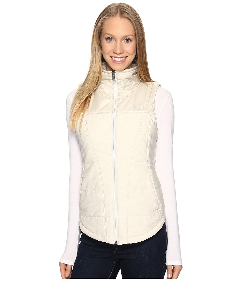 The North Face - Pseudio Vest (Moonlight Ivory Heather/Moonlight Ivory (Prior Season)) Women's Vest