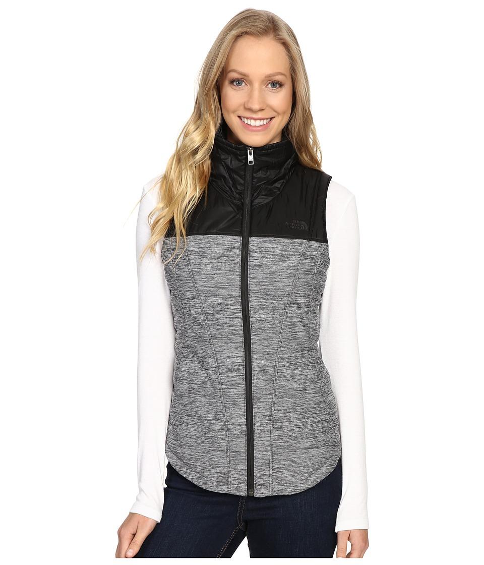 The North Face Pseudio Vest (TNF Dark Grey Heather/TNF Black) Women