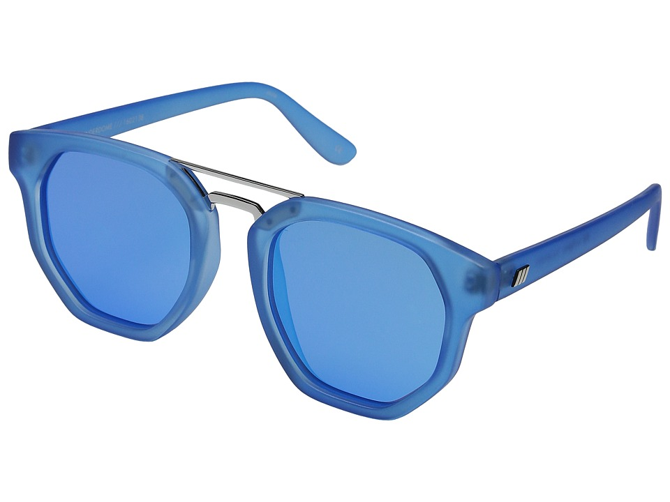 Le Specs - Thunderdome (Cyan/Silver) Fashion Sunglasses