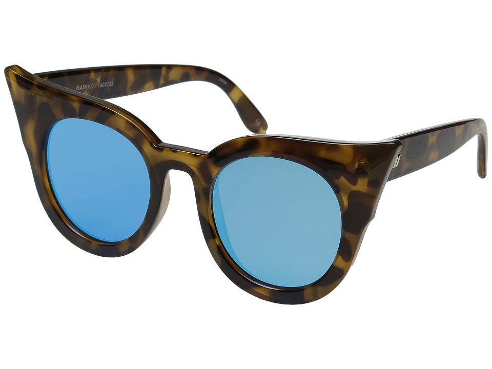 Le Specs - Flashy (Milky Tortoise) Fashion Sunglasses