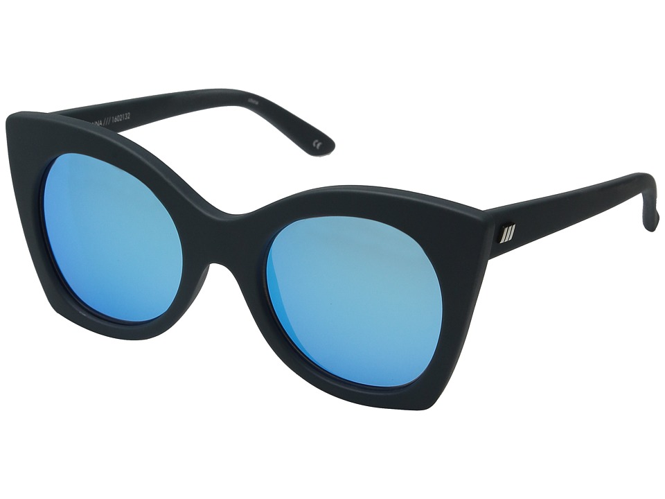 Le Specs - Savanna (Navy Rubber) Fashion Sunglasses