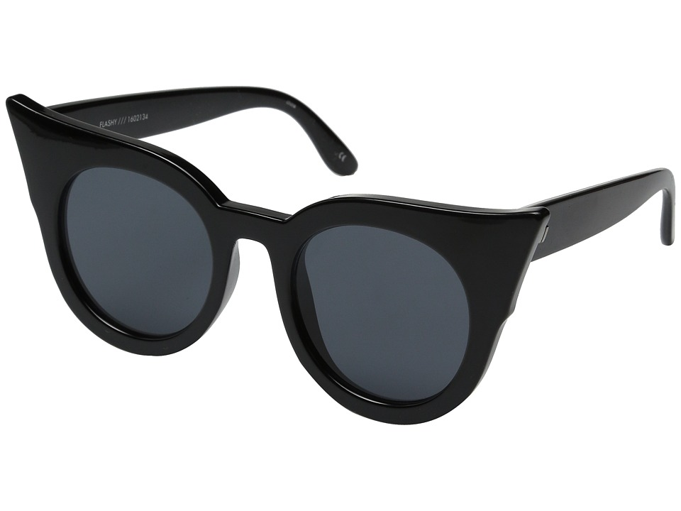 Le Specs - Flashy (Black) Fashion Sunglasses