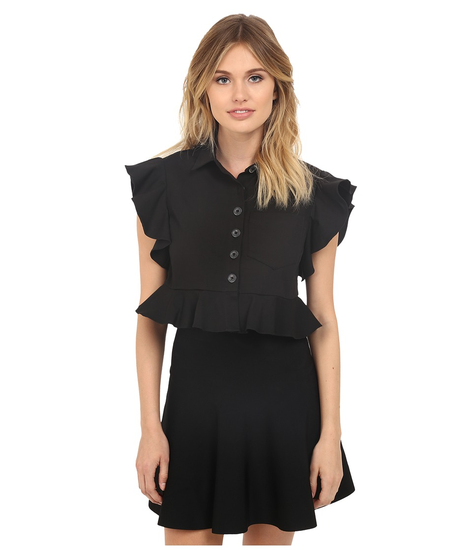 Nanette Lepore - Warehouse Blouse (Black) Women's Blouse