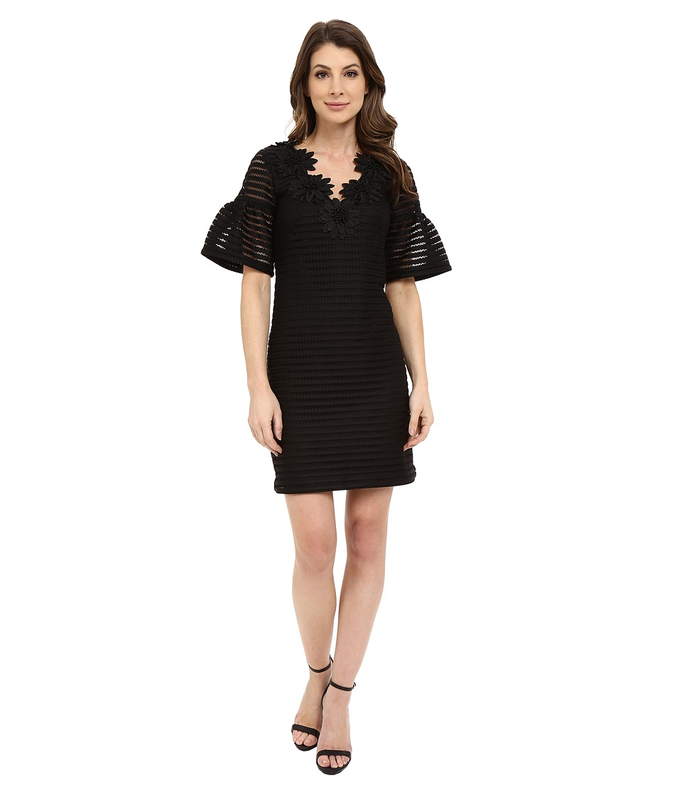 Nanette Lepore - Sweet Surprise Shift (Black) Women's Dress