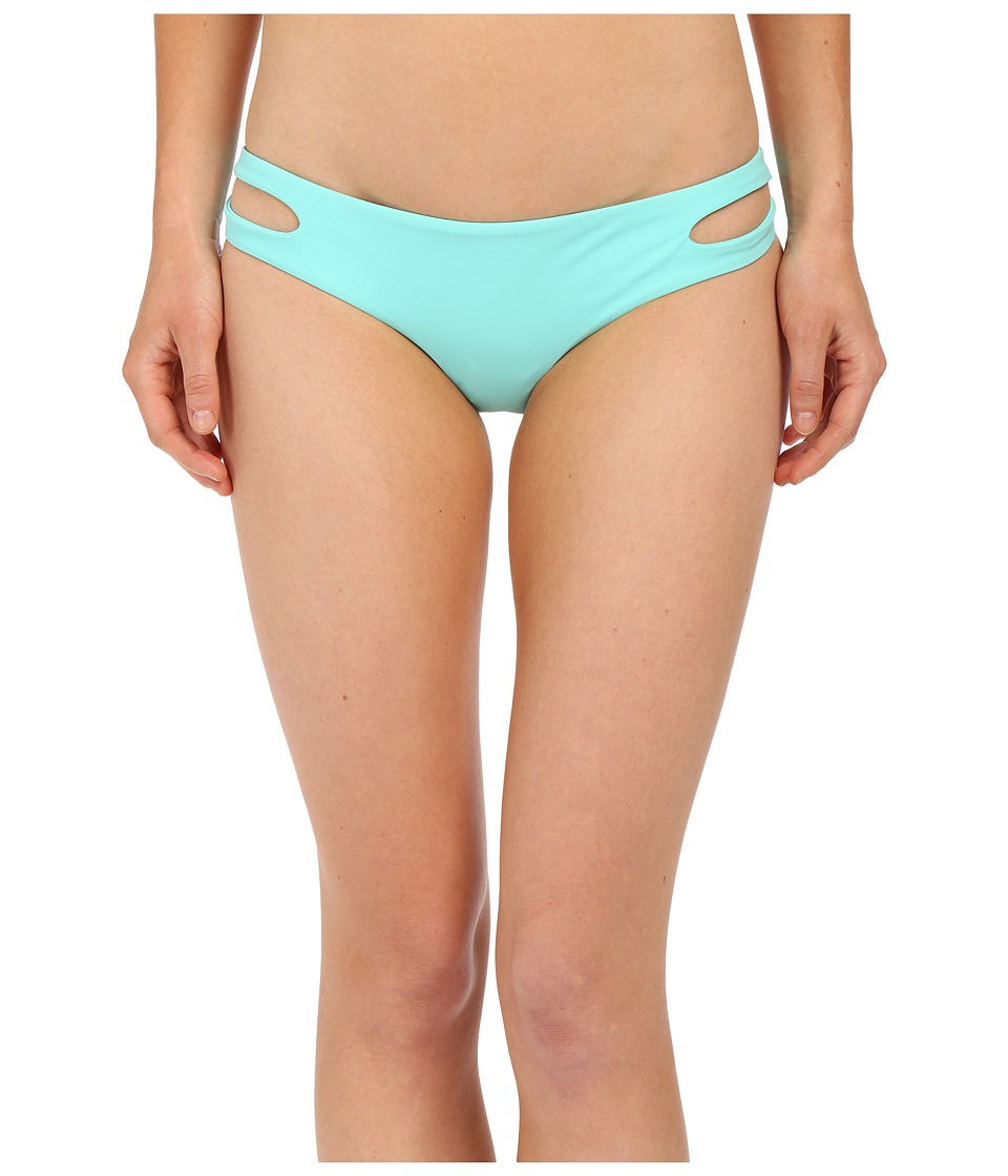 Red Carter Splice Dice Side Cut Out Cali Hipster (Ice) Women