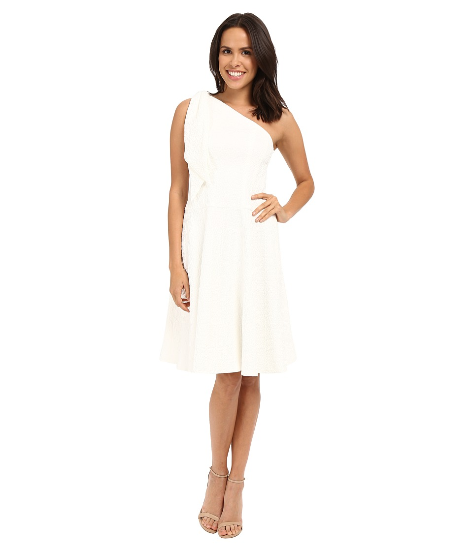 Nanette Lepore - Soiree One-Shoulder Dress (White) Women's Dress