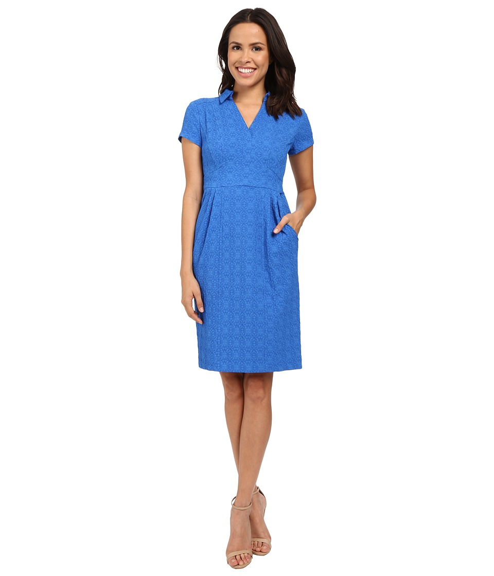 Nanette Lepore - Sundown Shift Dress (Blue) Women's Dress