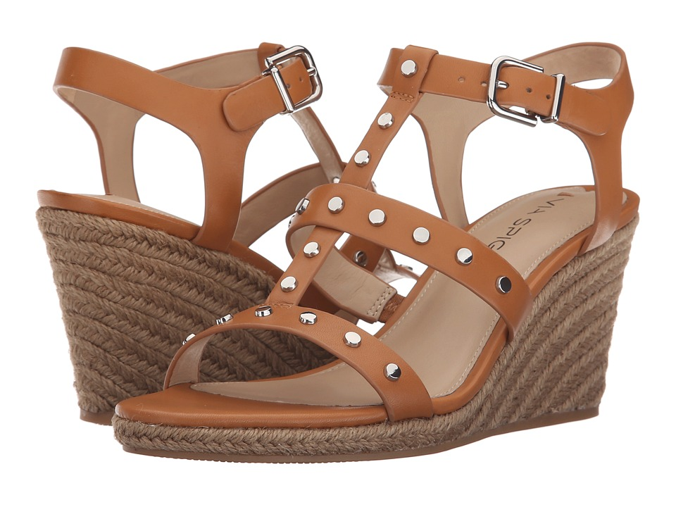 Via Spiga - Indya (British Tan) Women's Wedge Shoes