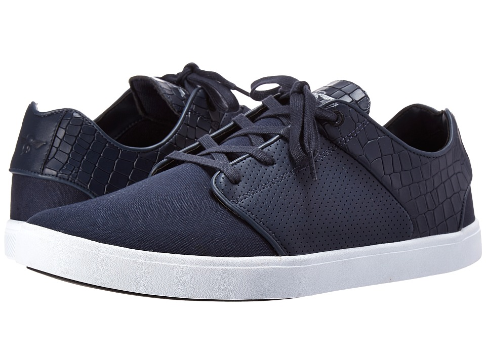 Creative Recreation - Santos (Navy Croc) Men's Lace up casual Shoes