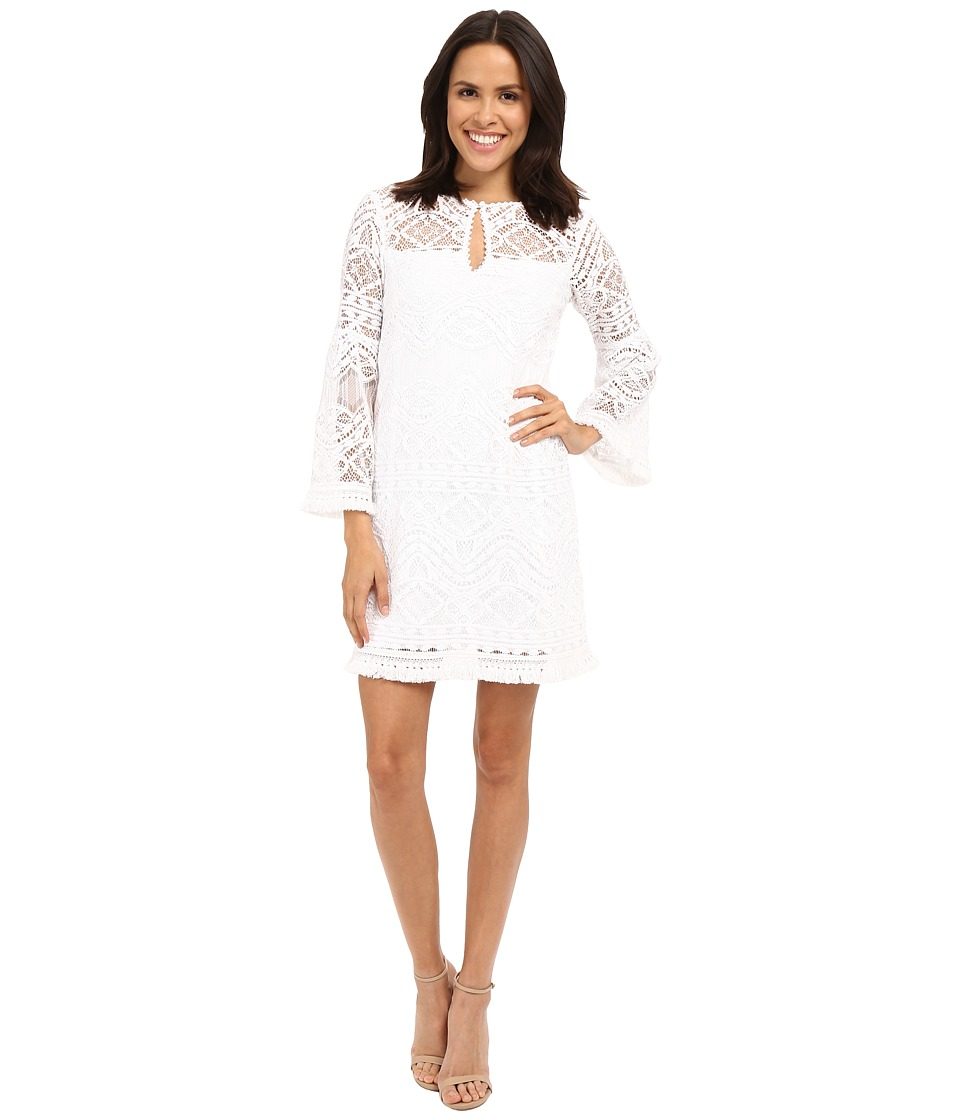 Nanette Lepore - Fairy Sleeve Frock (Ivory) Women's Dress