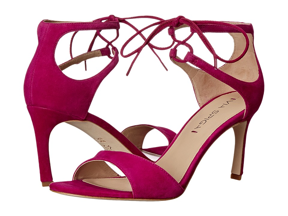 Via Spiga - Skylar (Fuchsia Kid Suede Leather) High Heels