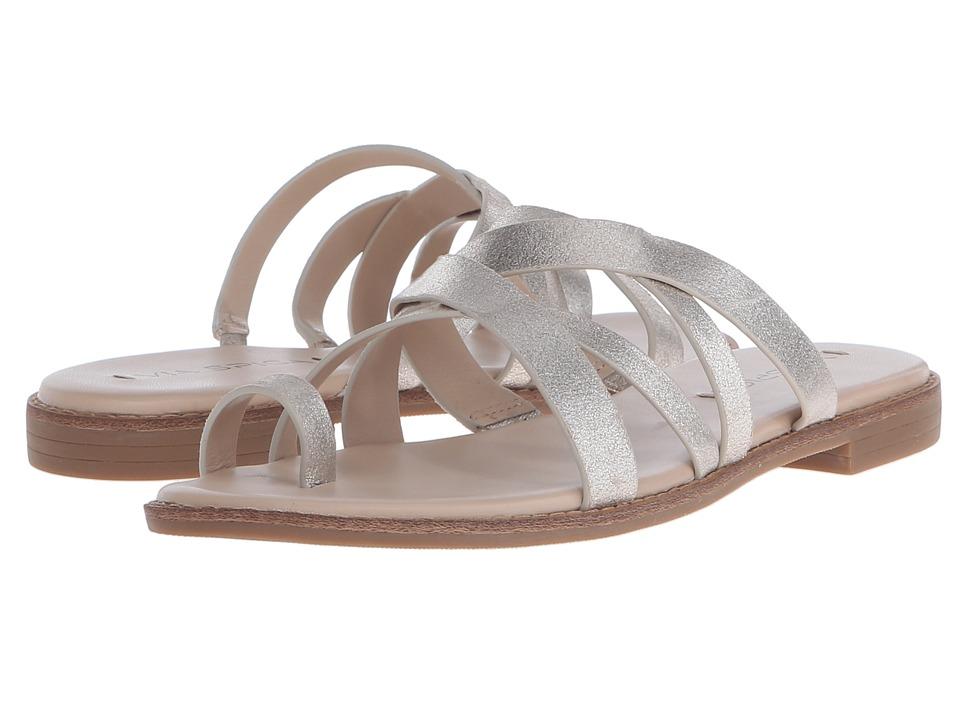 Via Spiga - Reese 2 (Platinum Burma Metallic) Women's Sandals