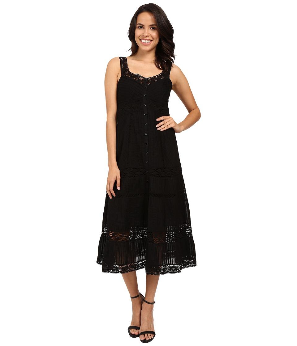 Nanette Lepore - All Laced-Up Dress (Black) Women's Dress